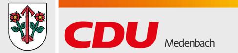 Logo von CDU Medenbach